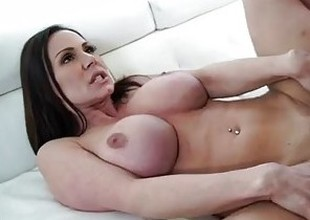 Kendra Craving is a big gazoo MILF who can't live without big weenie