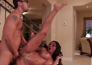 Priya Rai swallows dudes sturdy snake