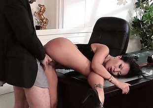Asa Akira has some dirty fantasies to be fulfilled with guys stiff boner in her mouth