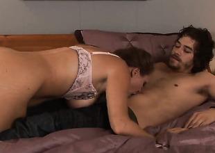Xander Corvus uses his unbending worm to bring blowjob addict Dyanna Lauren to the edge of nirvana