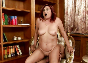 Lupita has great dick sucking experience and expands it with horny fuck buddy