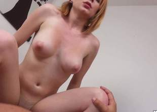 A blonde Czech babe with a big, chubby bottom is gonna get anally smashed. Shes just a consummate girl for some ass fucking. She loves to have big, massive pecker in her butt