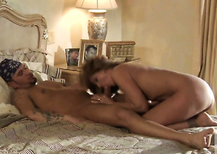 Julia Ann gets her throat destroyed by stiff love stick