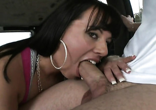 Brunette Kendra Star with phat gazoo is skilled enough to make dude cum again and again