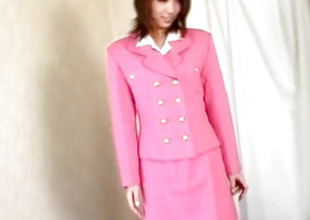Midori Saejima in pink outfit is screwed
