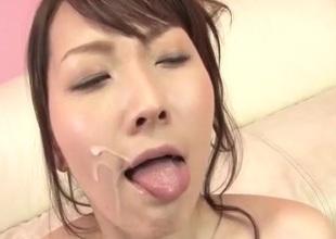 Shiori Uta gets toys to devour her needy pussy