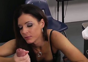 Brunette hair India Summer enjoys wet spot stretching in insane pornaction with Bill Bailey - sexy videoclip Pornalized.com