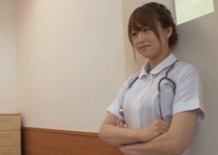 Akiho Yoshizawa Japanese nasty nurse has sex in hospital