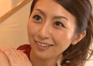 Rei Aoki Aged Japanese babe has sex