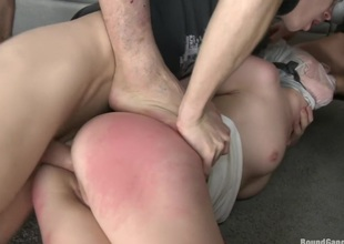 Triple Penetration! Double Anal! Russian Gal with Gaping Butthole!!