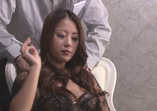 Hottest Japanese girl Satomi Suzuki in Fabulous JAV uncensored Lingerie scene