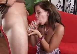 Bad Girl Teen Gets In Trouble After Accidental Creampie