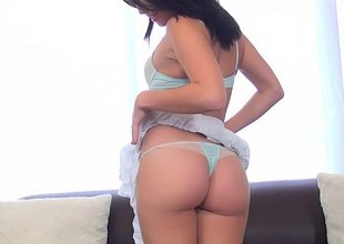 Fresh American sweetie Megan Rain