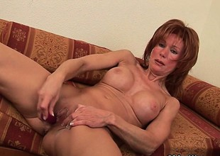 Sizzling hot redhead milfs take matters into their own hands