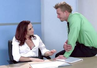 Chanel Preston fucks her gorgeous stud at work