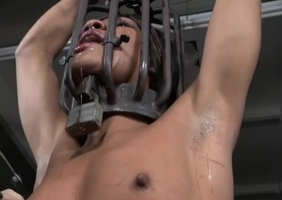 Punishment for a black angel in thraldom