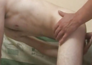 Gay Bareback Sex With Gay Anal Full of Cum