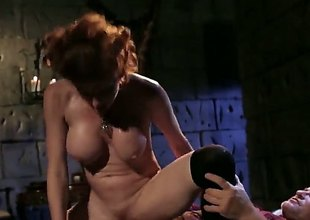 Veronica Avluv is a big ass babe with big tits. She is doing anal sex sex and is also having a side fuck. Check her out as she rides on top like a cowgirl.