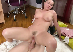 Good looking whore is totally fuckable in the ass