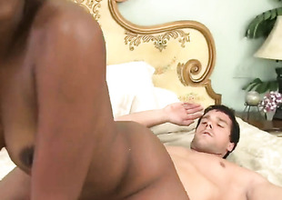 Piercings Teamuku with round ass and bald cunt turns Ramon Nomar on to the point of no return before dick sucking
