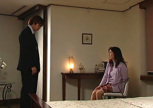 Eiko Hayashibara Hot Mature Asian Chick Sucks Cock