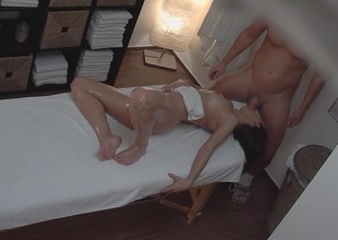 Youthful Teen Hotty Gets Hard Fuck on Massage Table