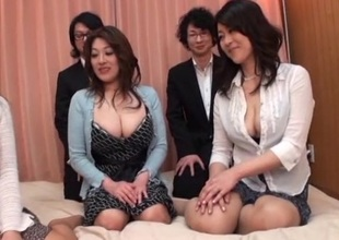 Japanese AV Models are into a sexy and wild face-sitting and greater quantity