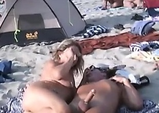 Public beach non-professional handjobs compil - navvanx.com