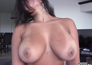 Big tit Colombian women love dick