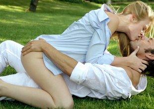 Teen blonde romantics
