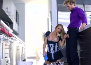 Nicole Aniston & Michael Vegas in The Perfect Maid 2 - Brazzers
