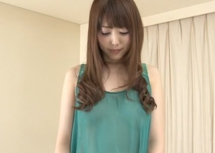Exotic Japanese chick Rei Furuse in Horny JAV uncensored Fingering clip