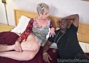 Breasty Granny in Creampie Movie