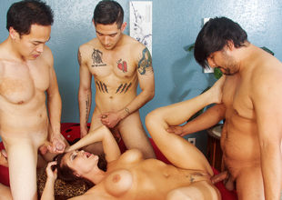 Kianna Bradley, Eric Jover in We Wanna Gang Group sex Your Mom #22, Scene #01