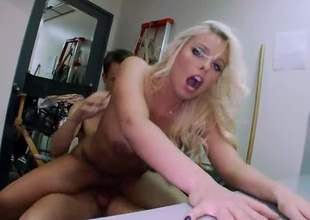 Britney Amber is a sexy PornStar with huge tits and a fat ass. Ready to receive her tight pussy fucked on today's update of BackRoomFacials. Britney Amber sucks the dick wonderful and receive her pussy banged out until receive a load of cum dumped on her pretty face. Enjo