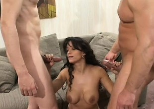 If these big dicks are going into the mommy, they are going in her booty