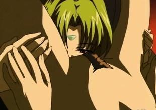 Japanese anime sexy lesbian sex