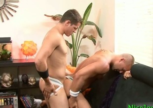 Bobby gets his fine anus fucked deeply