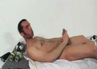 Hunki Edu Marin jerking his penis
