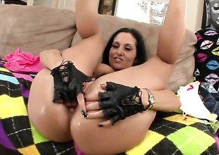 Brunette Ava Addams with bubbly booty cant live a day out of getting fucked by sexually excited guy